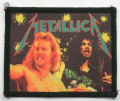 Metallica - 'James and Kirk' Vintage Printed Patch
